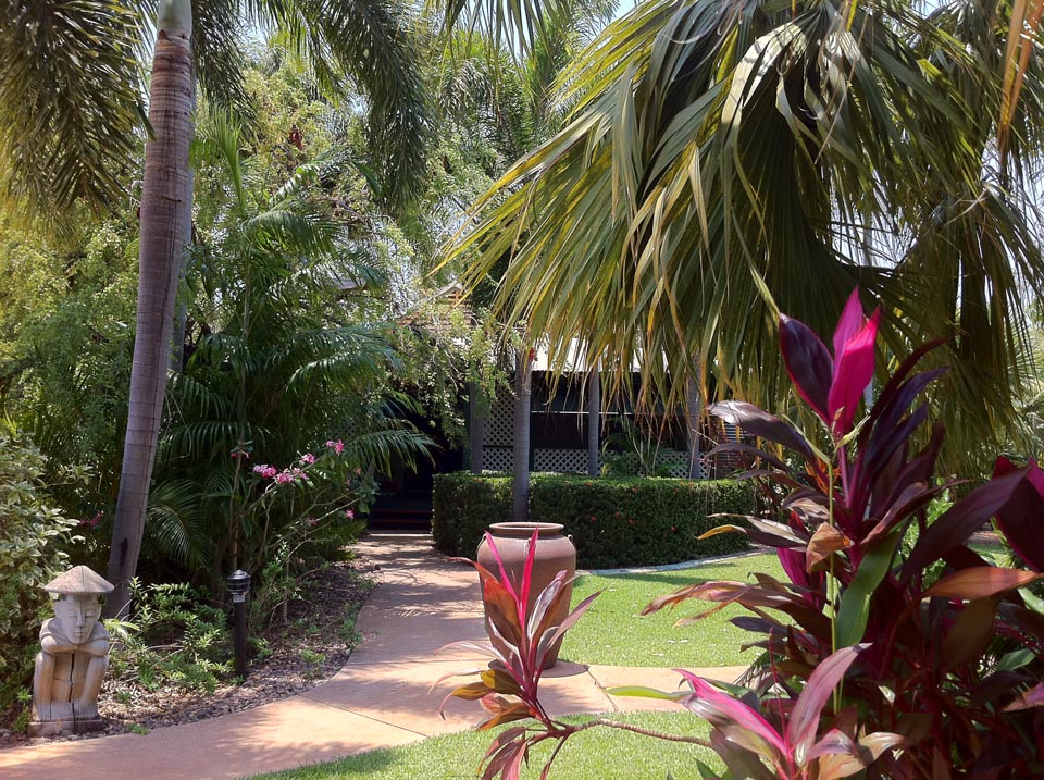 Peaceful accommodation in Broome