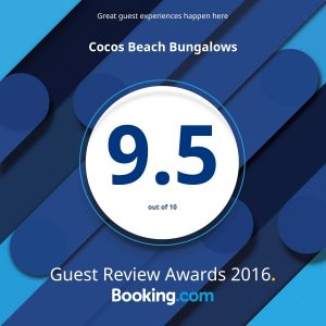 Booking.Com Guest Review Award 2016
